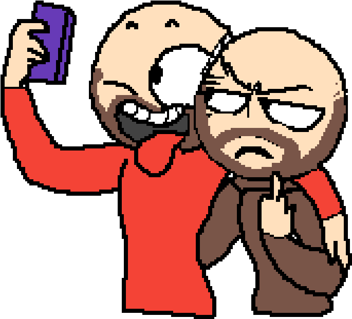 F Off - Selfie Drawing Base Clipart - Full Size Clipart ...