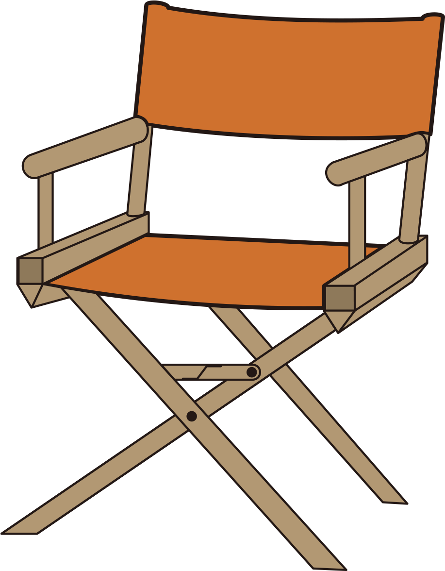 1181 X 1181 4 Director Chairs Clip Art Png Download Full