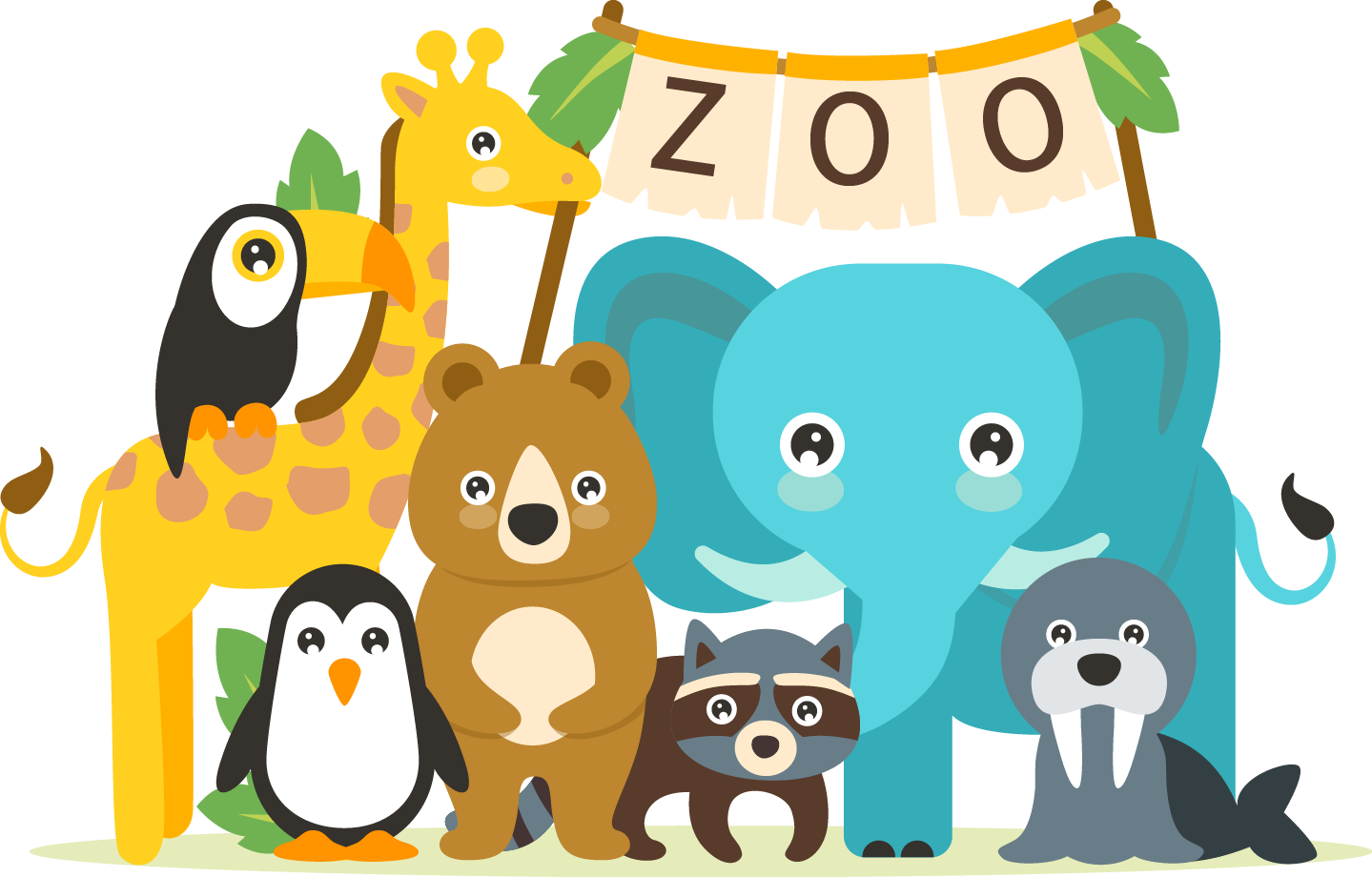 The Best Cute Clipart Images From 50 Cliparts Of - Animals ...