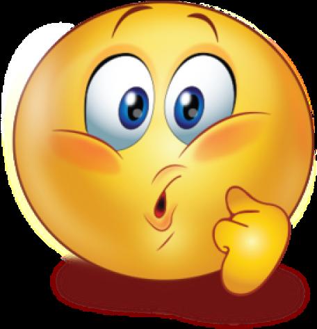 Emoji Face Clipart Cute Sticker - Sad Emoticon - Png ...