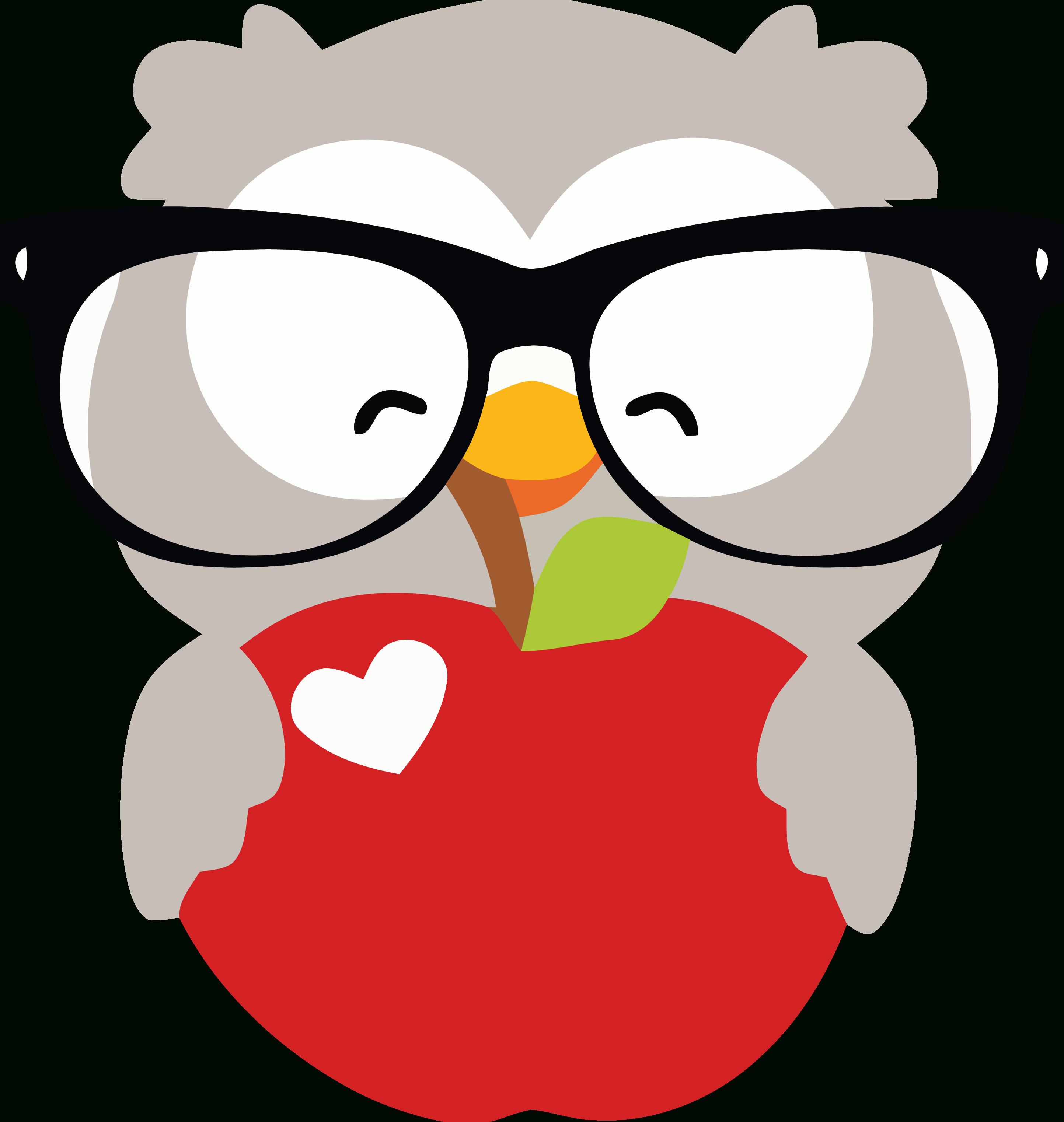 Owl Happy Clipart Www Topsimages In Happy Clipart Coruja De