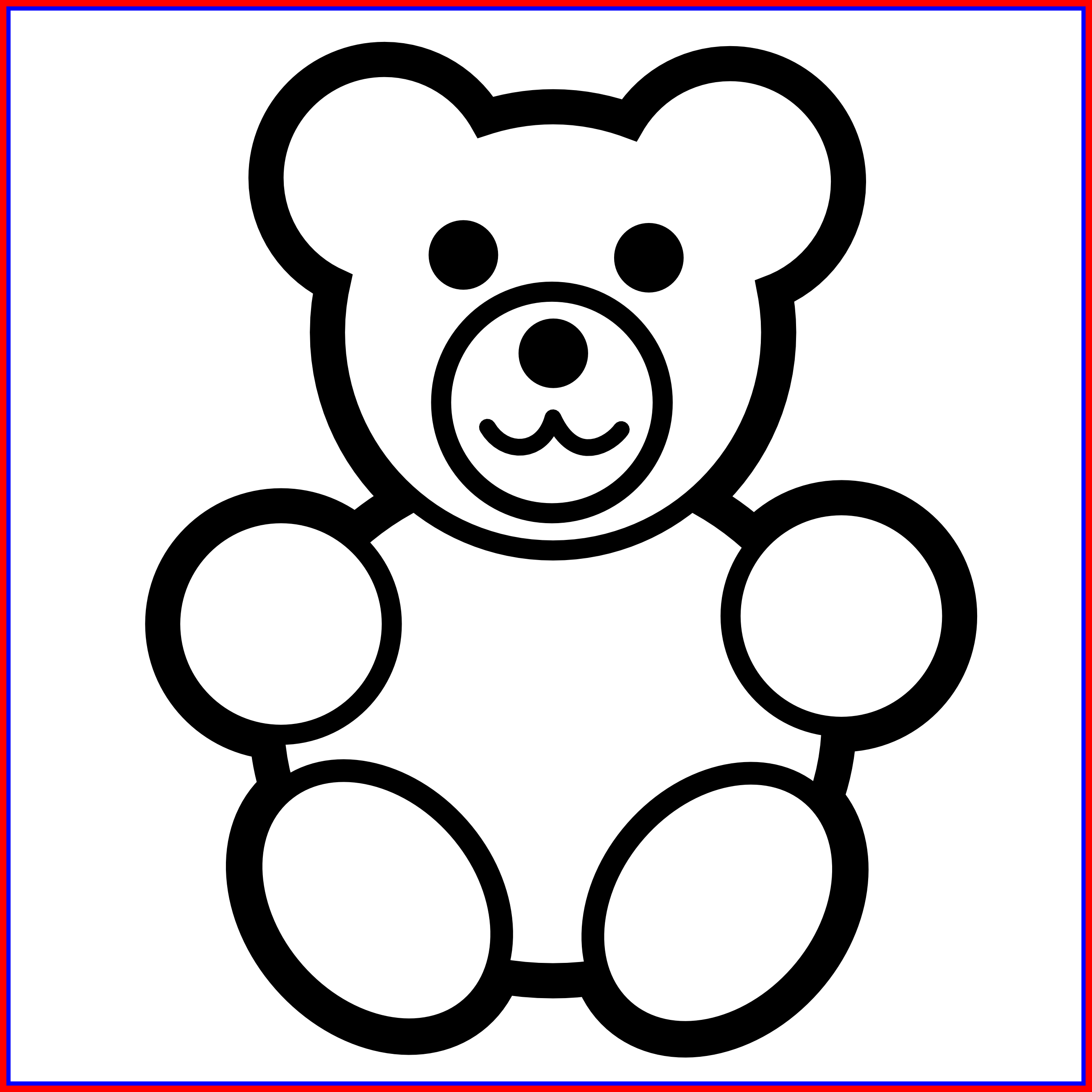 The Best Ideas How Simple Bear Drawing Cute Clipart Full Size
