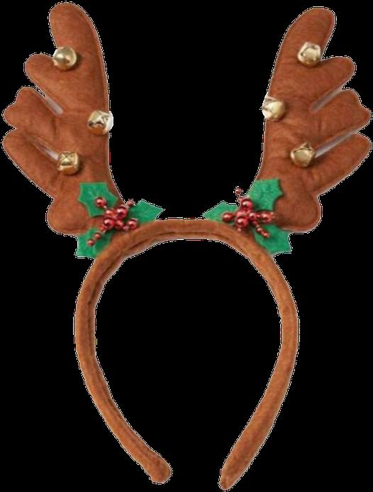 Christmas Headband Png.596 X 720 4 Christmas Reindeer Headband Clipart Full