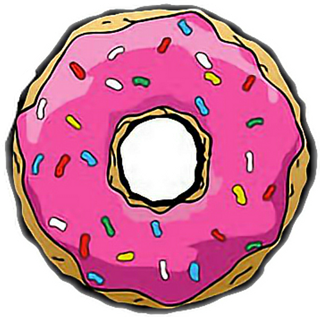 Rosquilla Dona Food Homer Homerosimpson Freetoedit Donuts