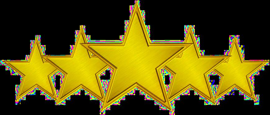 Download Good Job Png - 5 Star Clipart (#3437834) - PinClipart