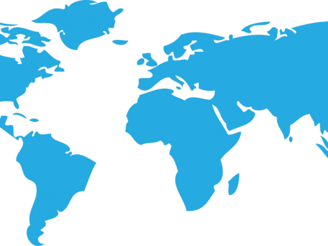 World Map Clipart Transparent - High Resolution Free World ...