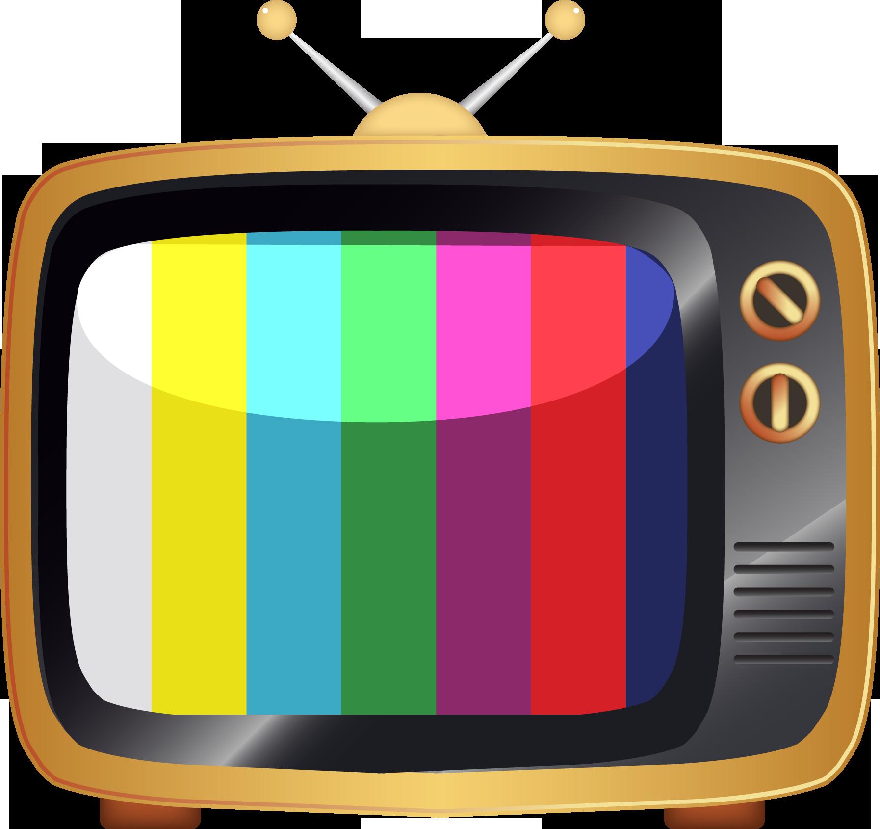 Web App Video Stream - Vector Old Tv Png Clipart - Full ... (1794 x 1689 Pixel)