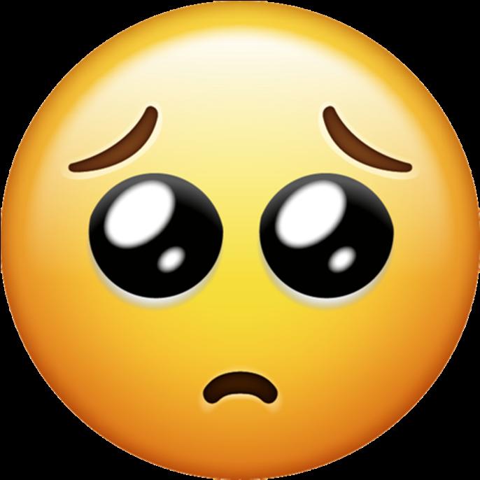 Crying Sad Emoji Png - Whatsapp New Emoji 2018 Clipart ...