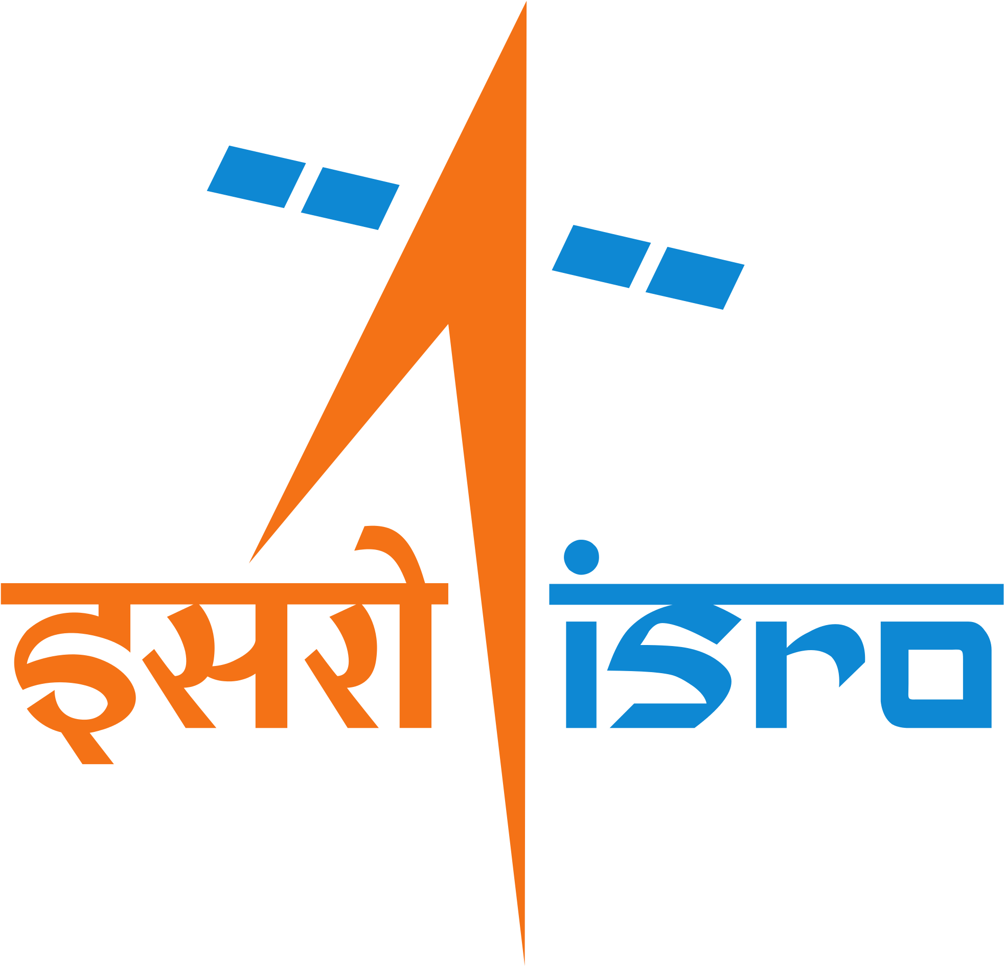 Indian Space Research Organisation Logo - Isro Logo Clipart - Full ...