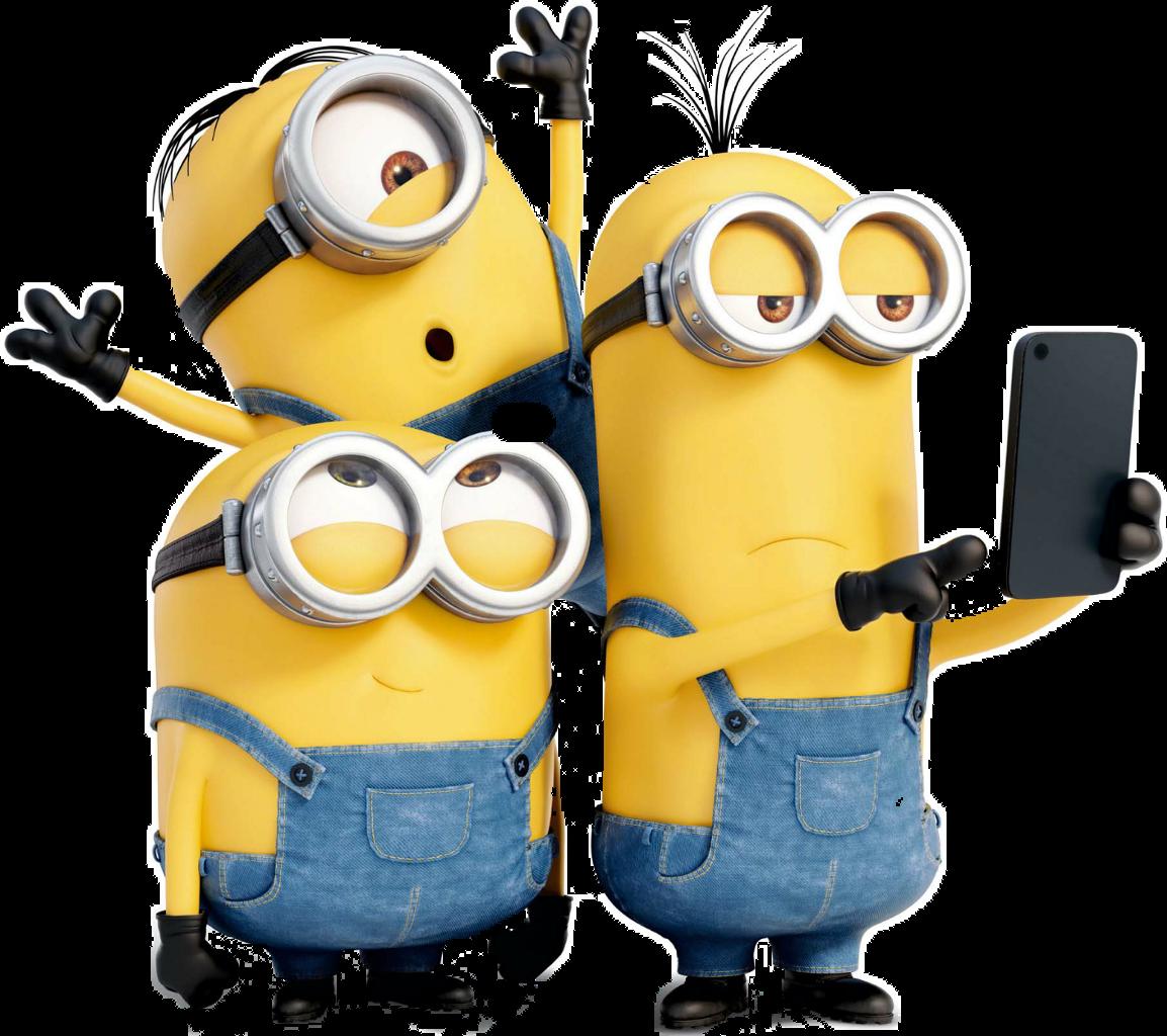 Selfie Smile Friends Stiker Gambar Minion Untuk Stiker