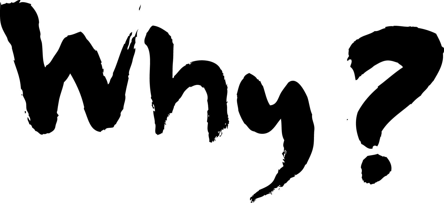 Why - What's Your Why Png Clipart (1837x842), Png Download