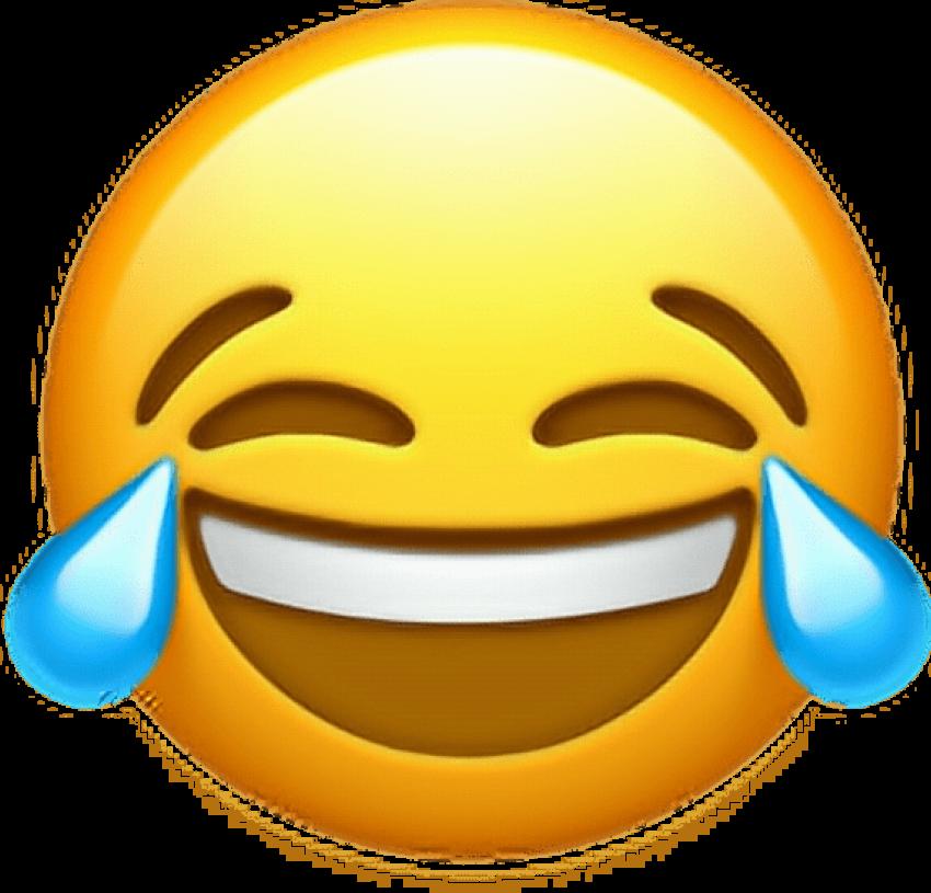 Free Png Download Ios 10 Crying Laughing Emoji Png - Ios ...