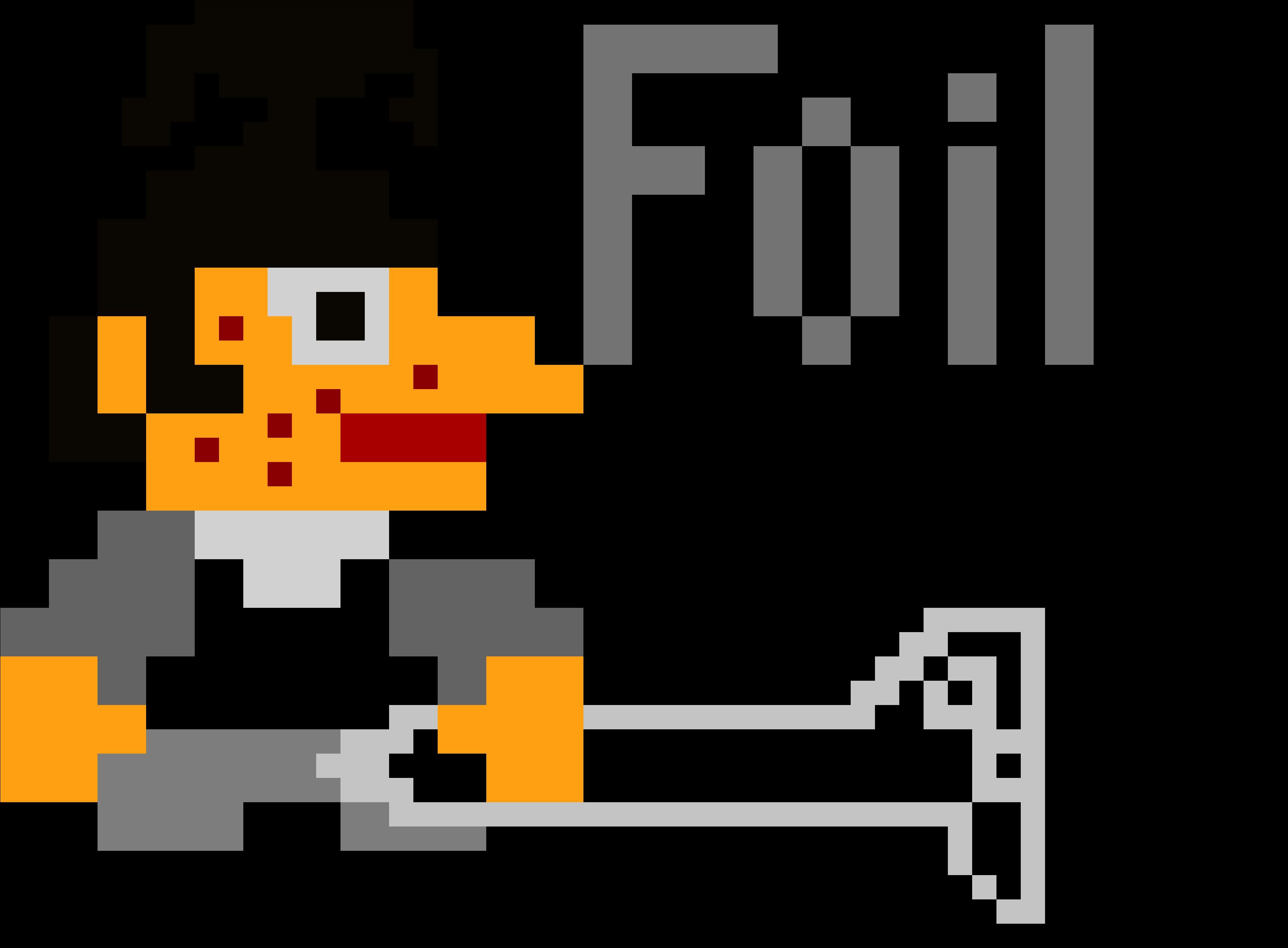 Foil Man Mario Pixel Art By Levi 8 Bit Pixel Mario Clipart
