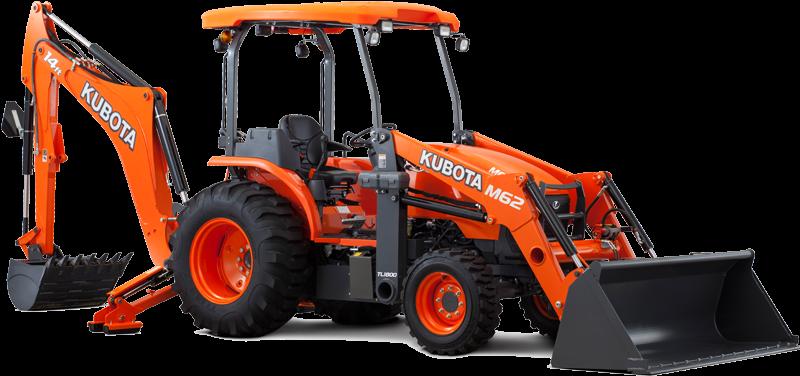 Kubota M Series Tractor Loader Backhoe M62tlb - Kubota L2501