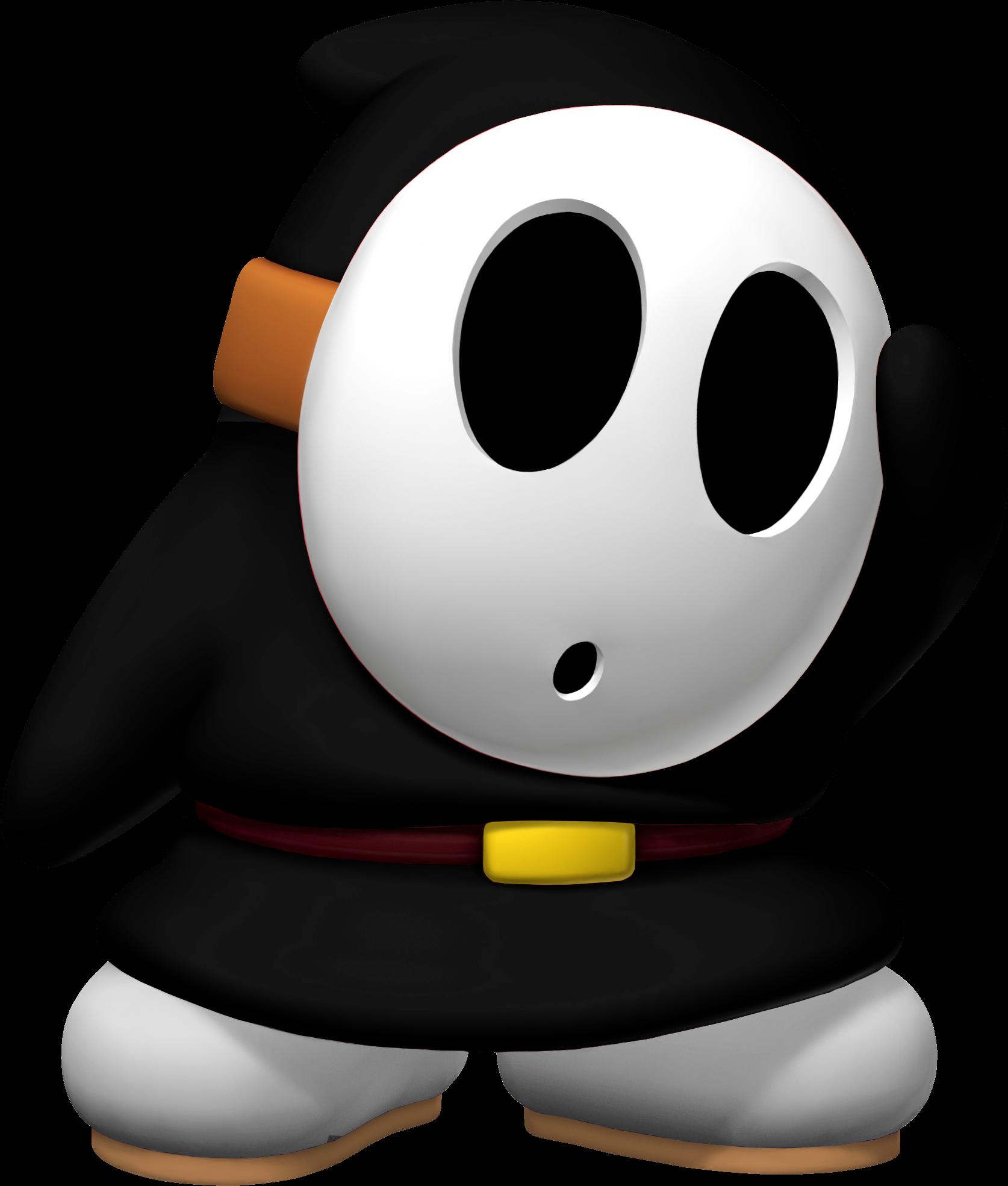Recent Posts By Terros Kid - Black Shy Guy Super Mario