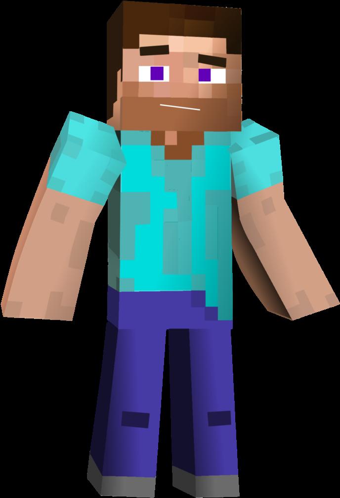 730 X 1095 3 Minecraft Steve 3d Png Clipart Full Size Clipart 3639519 Pinclipart