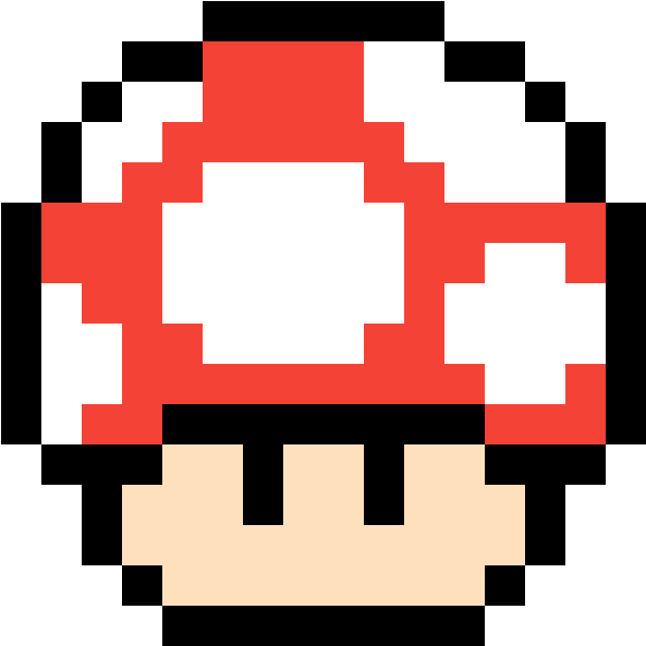 Mario Mushroom Pixel Mario Mushroom Gif Clipart Full