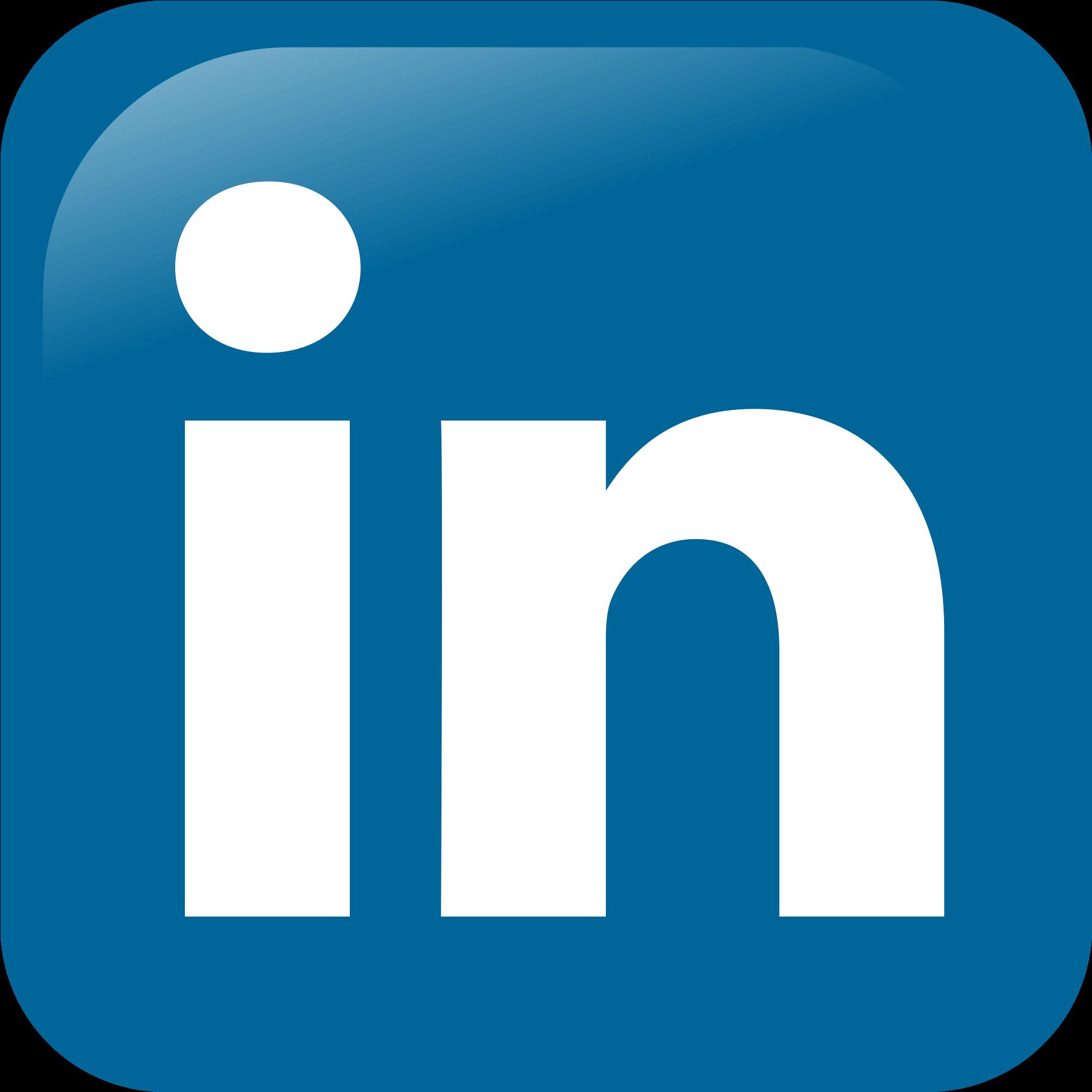 Social Media Platform - Logo Hd Linkedin Square Clipart - Fu