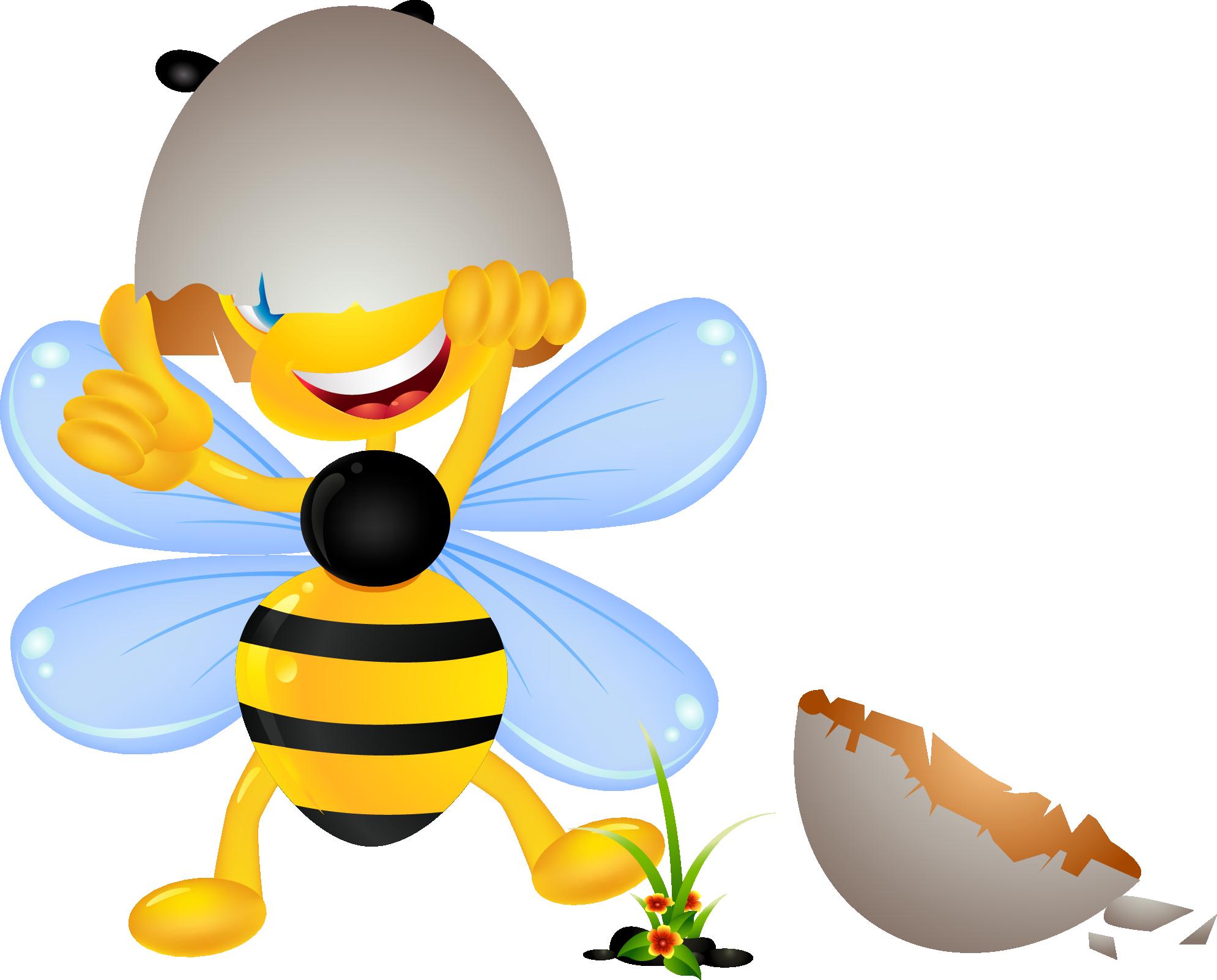 Открытки с изображением пчелок, пожеланиями успешной
