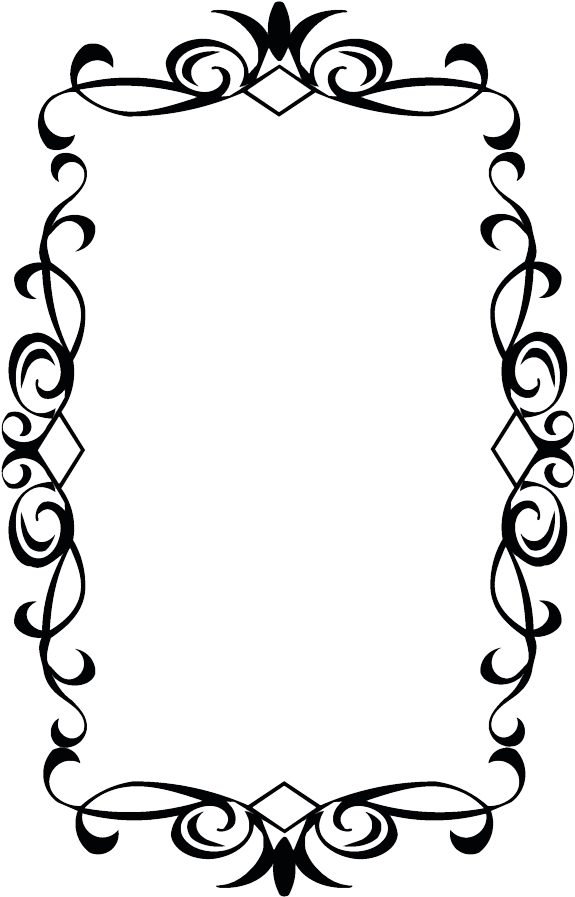 Wedding Borders Clip Art Vintage Frame Png Free Transparent Png Full Size Clipart 3652834 Pinclipart