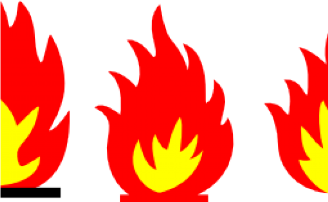 Flames Clipart Red Flame - Symbols Fire - Png Download - Full Size