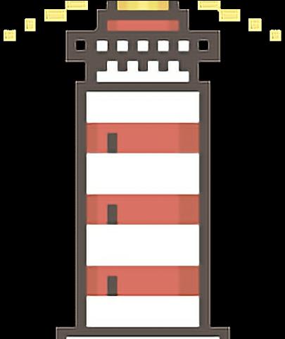Lighhouse Clipart Pixel Art Lighthouse Pixel Art Png