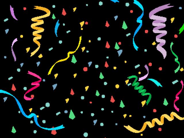 Confetti Clipart Single - Confetti Transparent Birthday ...