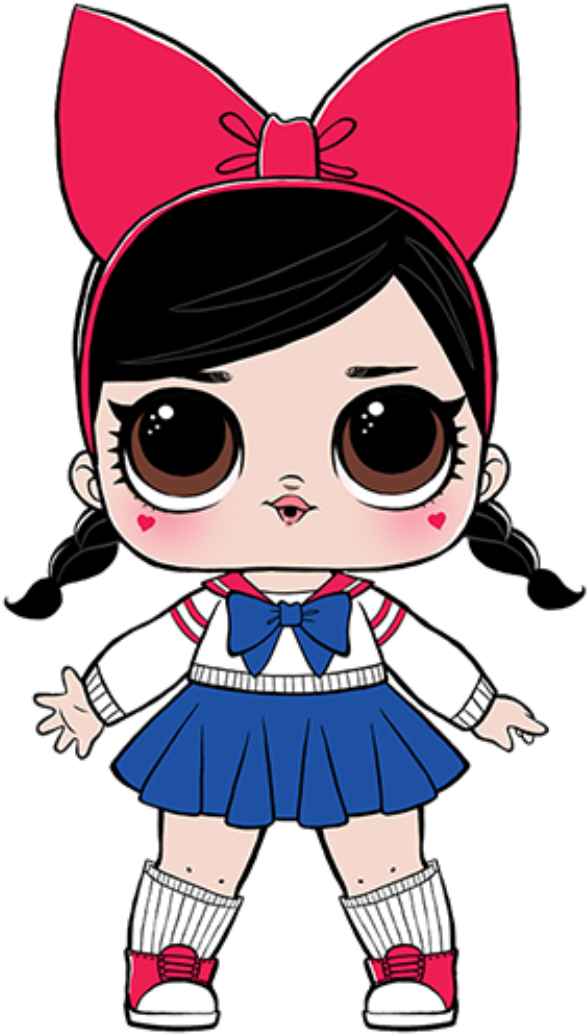 Collectible Dolls With Mix And Match Accessories Lol Surprise Fanime Clipart Full Size Clipart 376989 Pinclipart