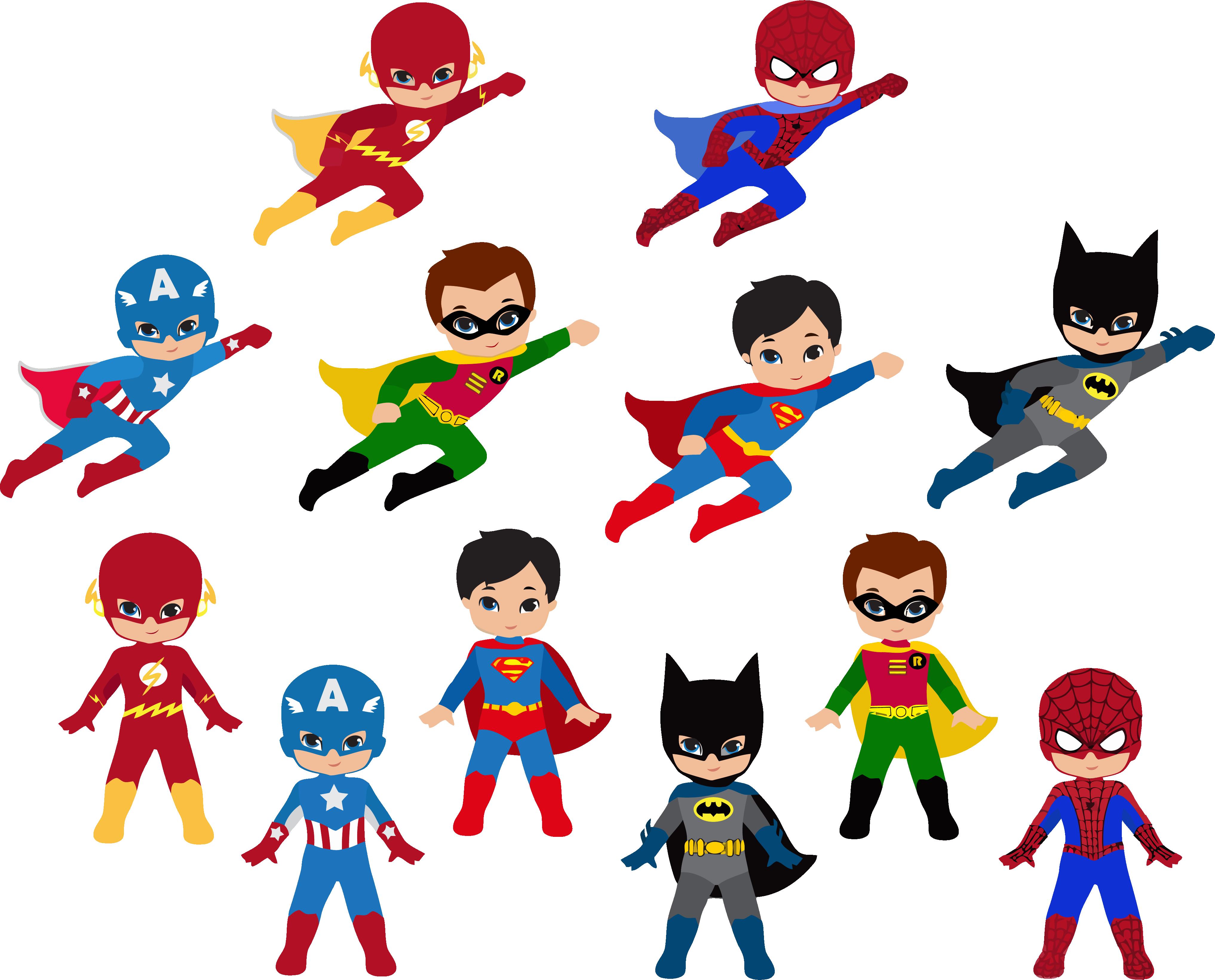 19 Free Superhero Vector Library Download Huge Freebie ...
