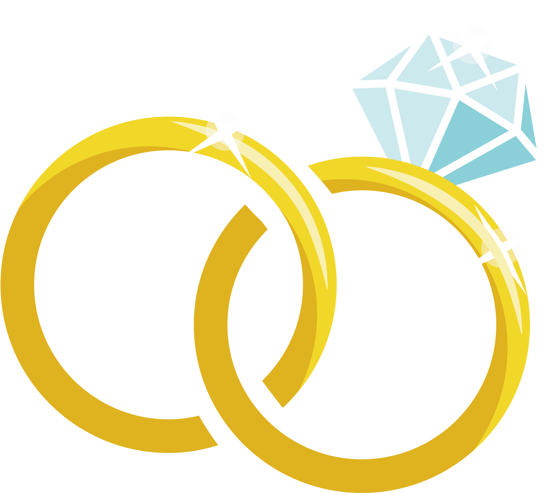 Wedding Ring Png Clipart Full Size Clipart 3731374 Pinclipart