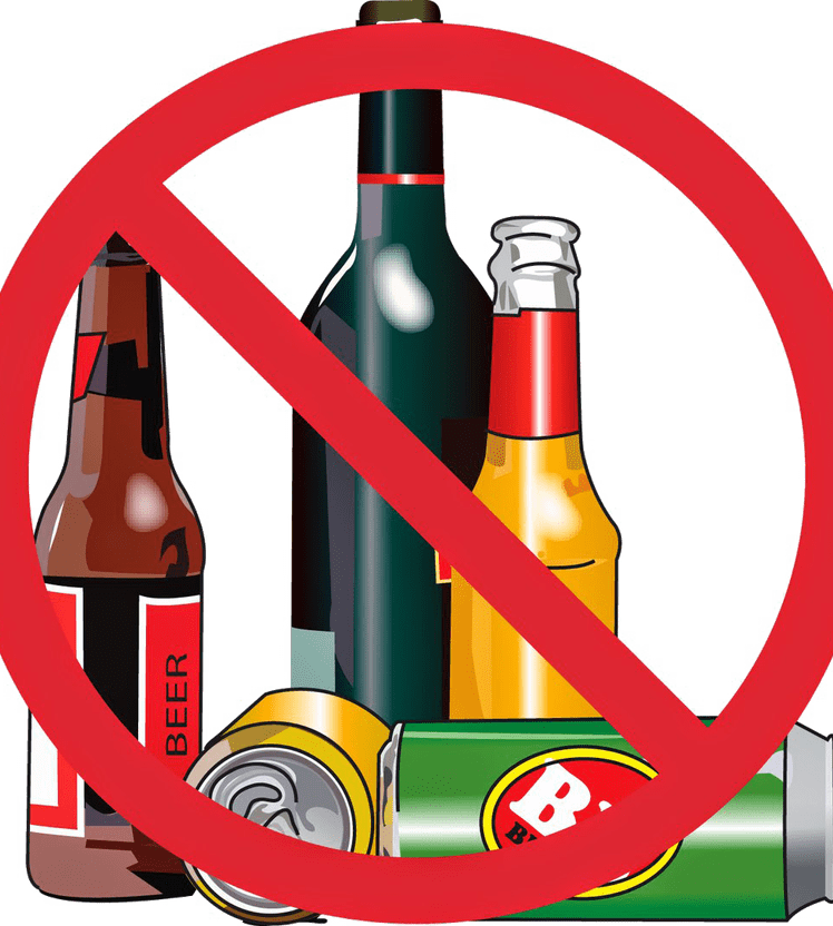 Clipart Beer Alcohol Intake - Do Not Drink Alcoholic - Png Download - Full  Size Clipart (#3771361) - PinClipart