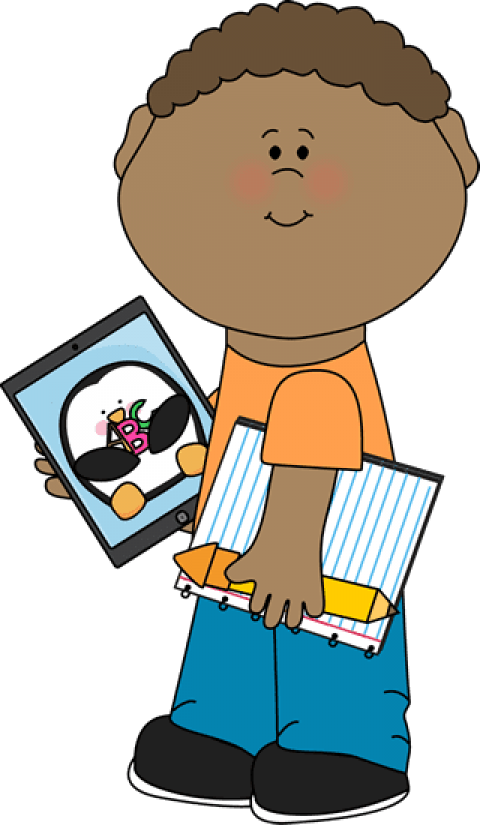 Ipad kid. Free png school kids