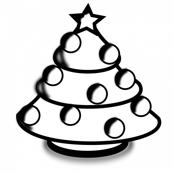 Medium Size Of Christmas Tree Merry Christmas Images Black And White Clipart Full Size Clipart 3791723 Pinclipart