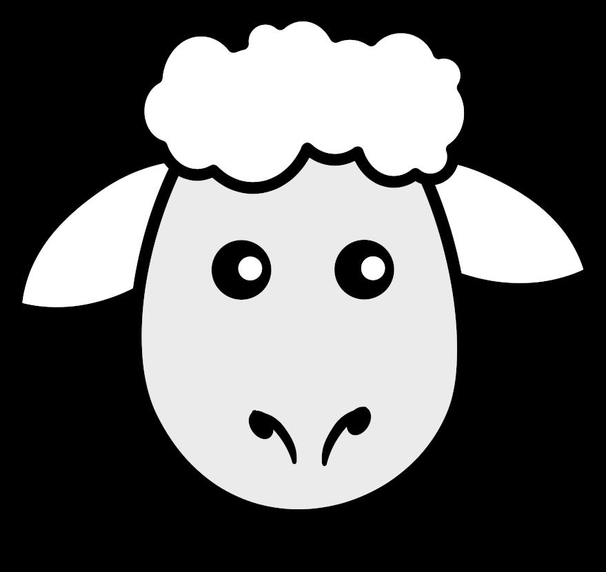Sheep Animal Free Black White Clipart Images Clipartblack ...