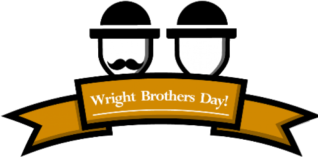 Flight Clipart Wright Brothers - Png Download (640x480), Png Download