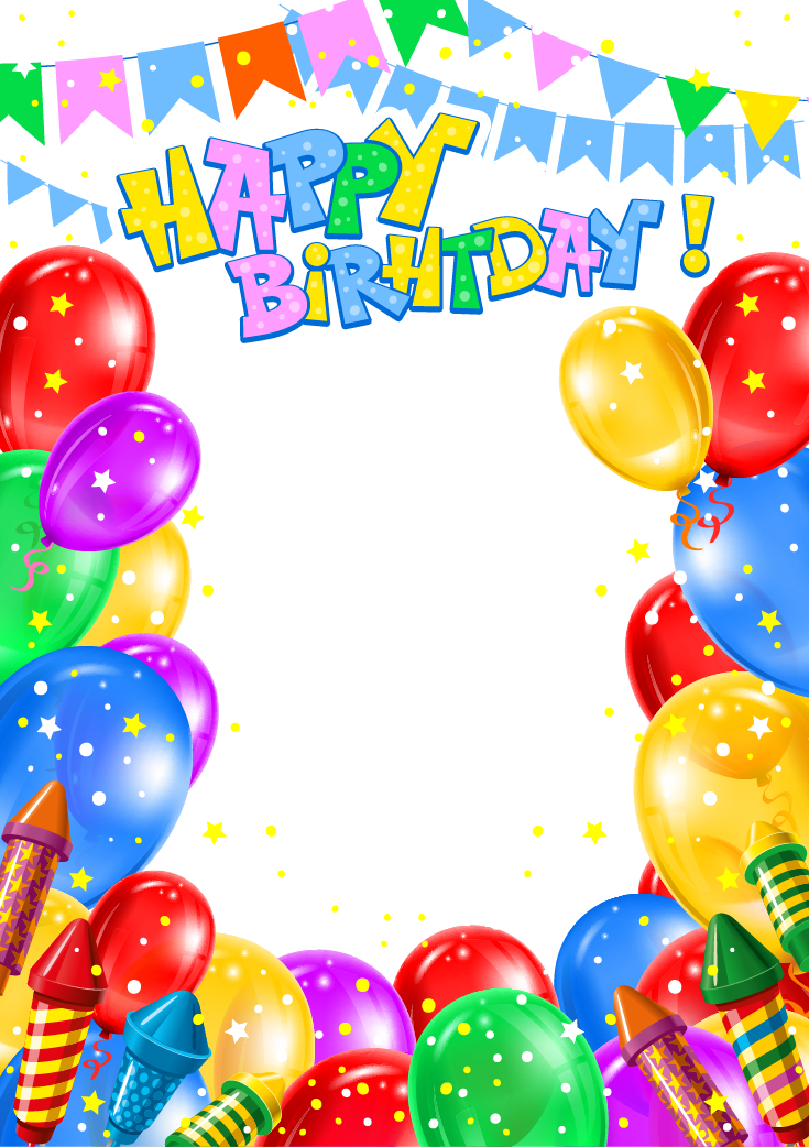 Balloon Birthday Clip Art Happy Birthday Banner Png Transparent