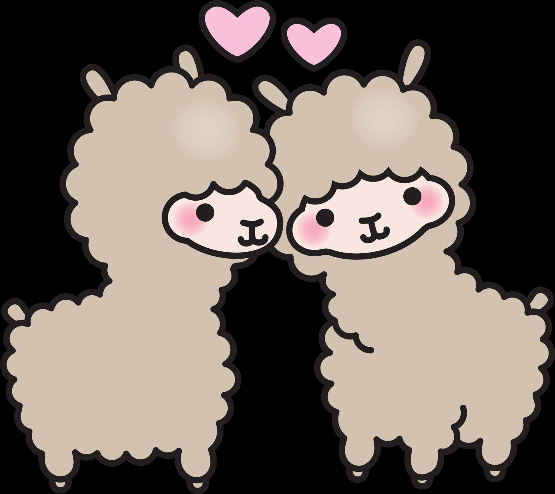 Search Sparkly Alpaca - Llama Dibujo Kawaii Clipart - Full ...