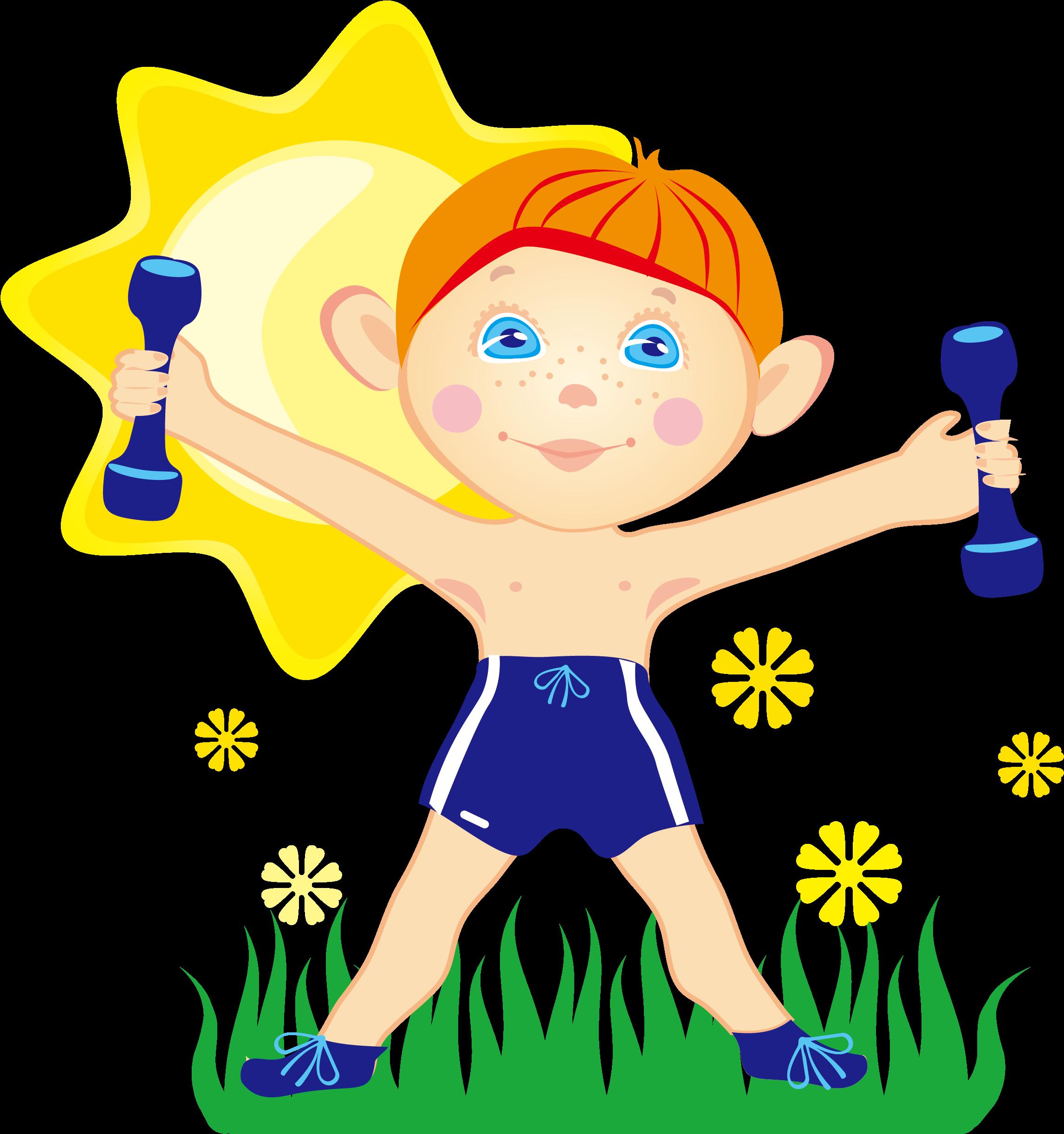 Картинка здорового человека для детей