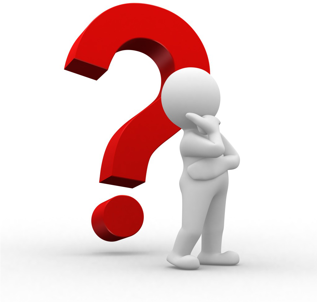 Person Thinking With Question Mark Clipart - Full Size Clipart (#43970) -  PinClipart