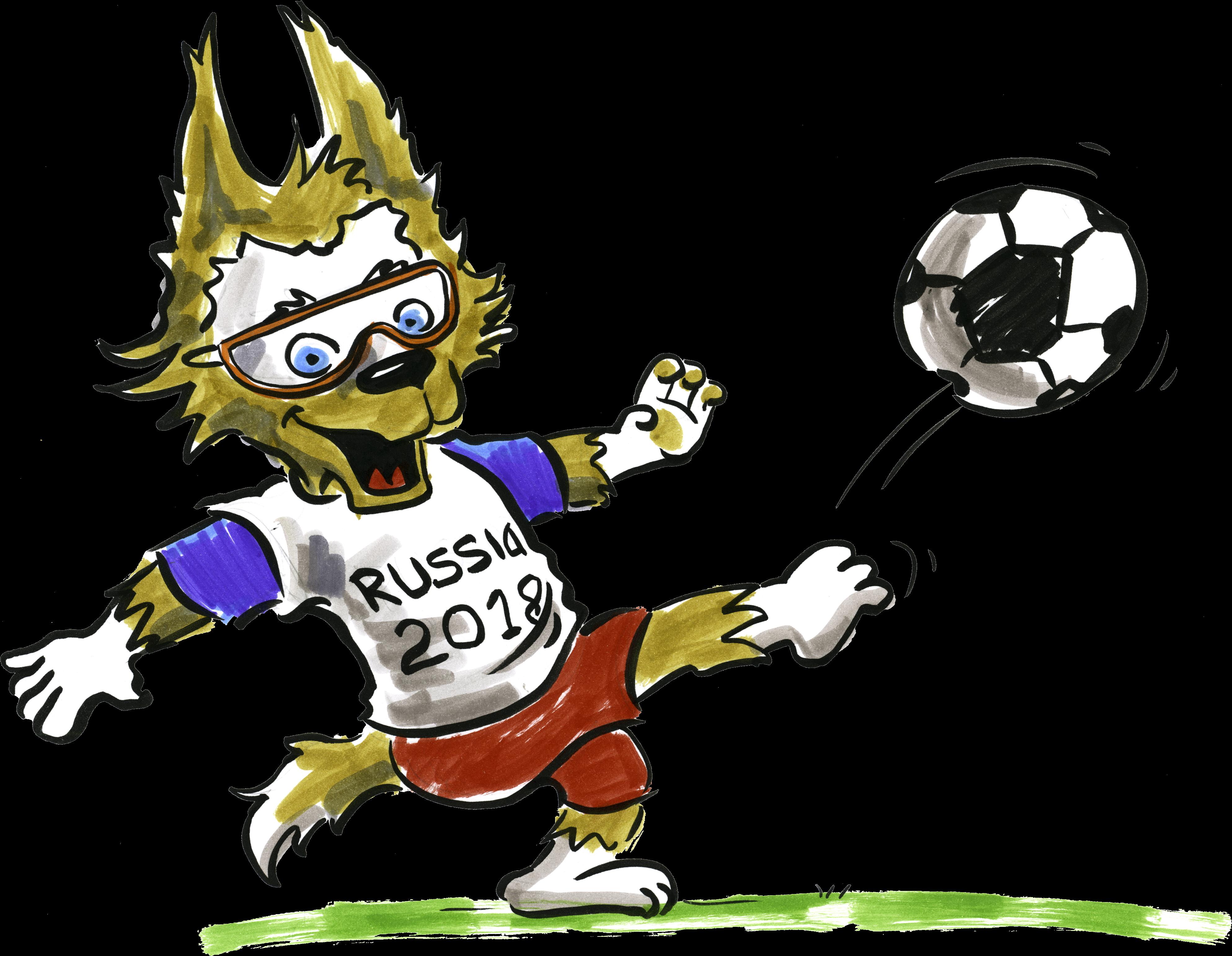 Fussball Russland Wo Fussball Wm 2018 Clipart Png