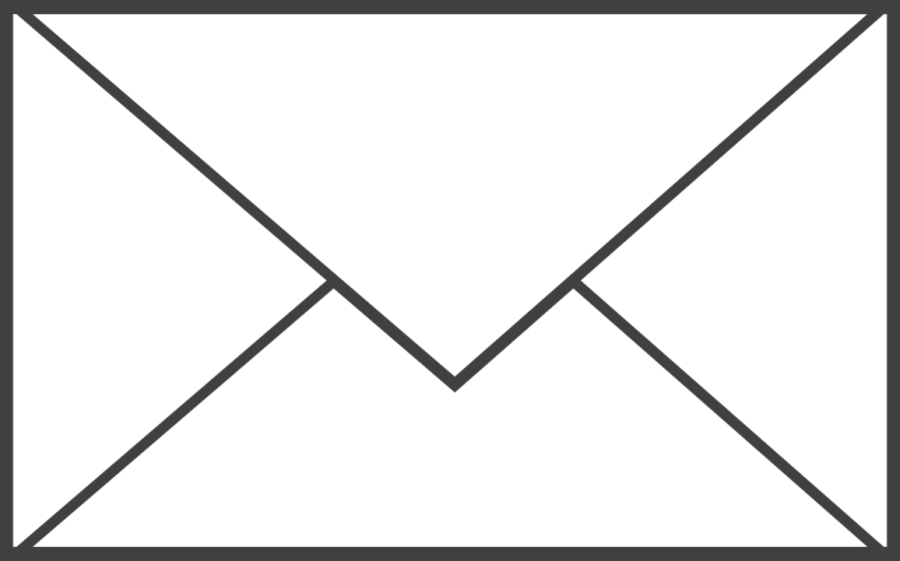 Black And White Picture Of Envelope Clipart Envelope ...