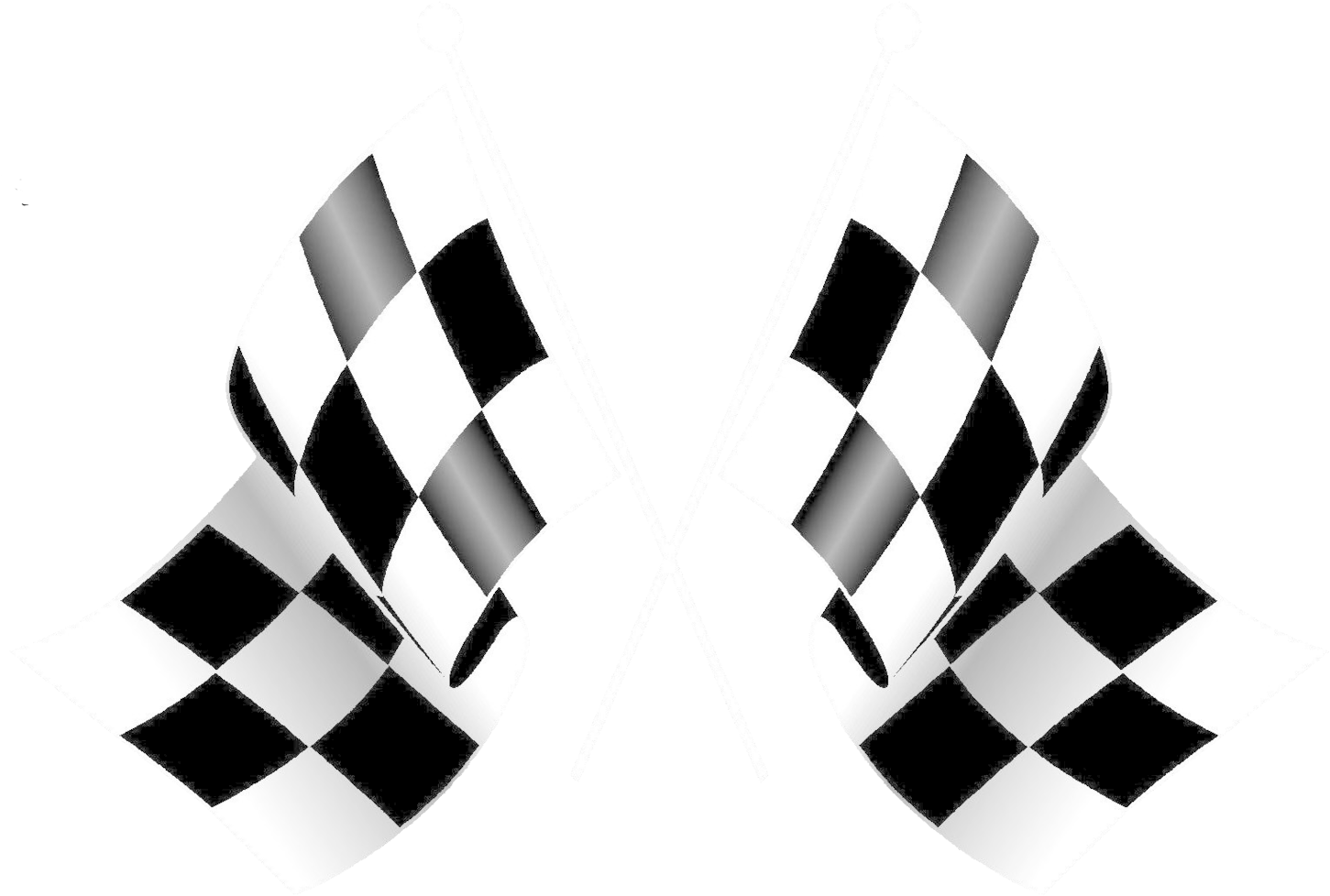 Racing Flags Clip Art - Checkered Flag Transparent ...
