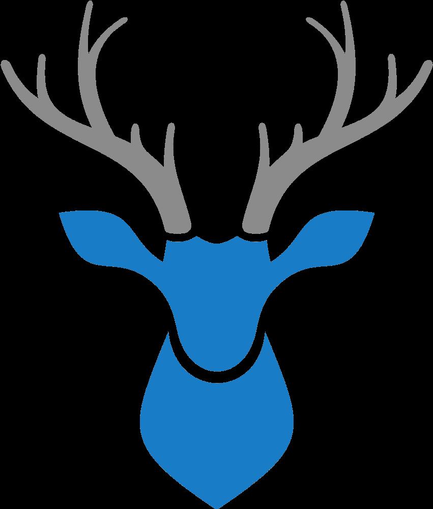 Ikoner Deer Kepala Rusa Vektor Clipart Full Size Clipart