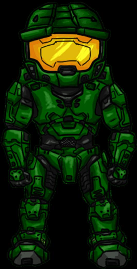 Chibi Halo Master Chief Master Chief Chibi Transparent