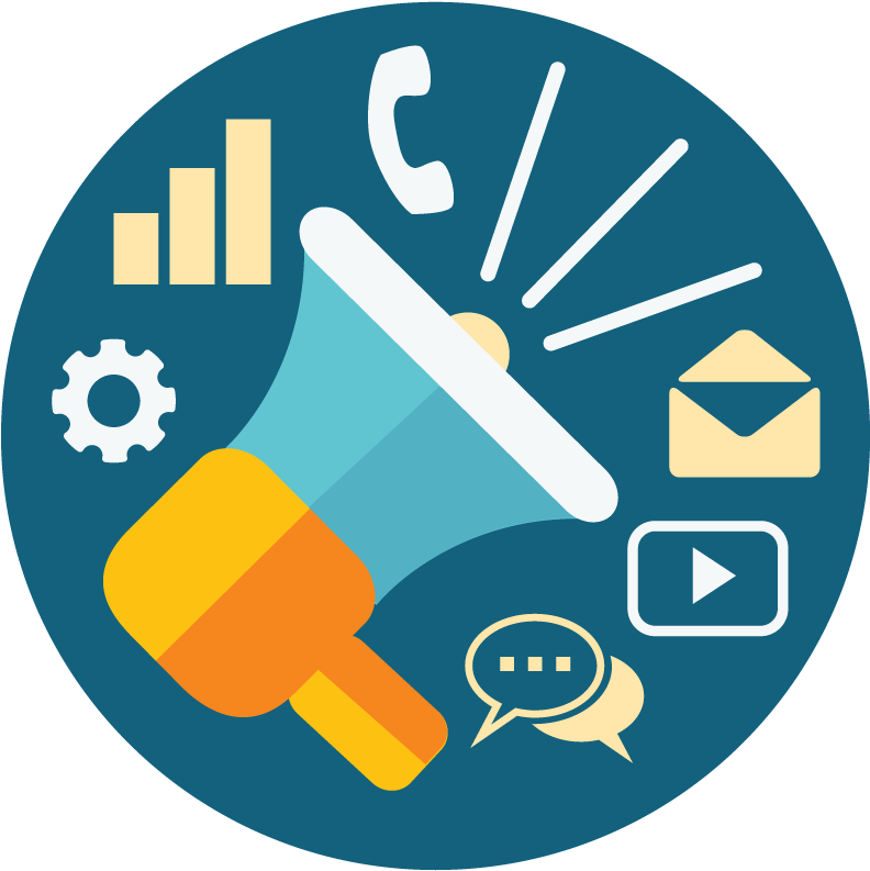 Icon - Web Marketing - Marketing Icon Png Clipart - Full ...