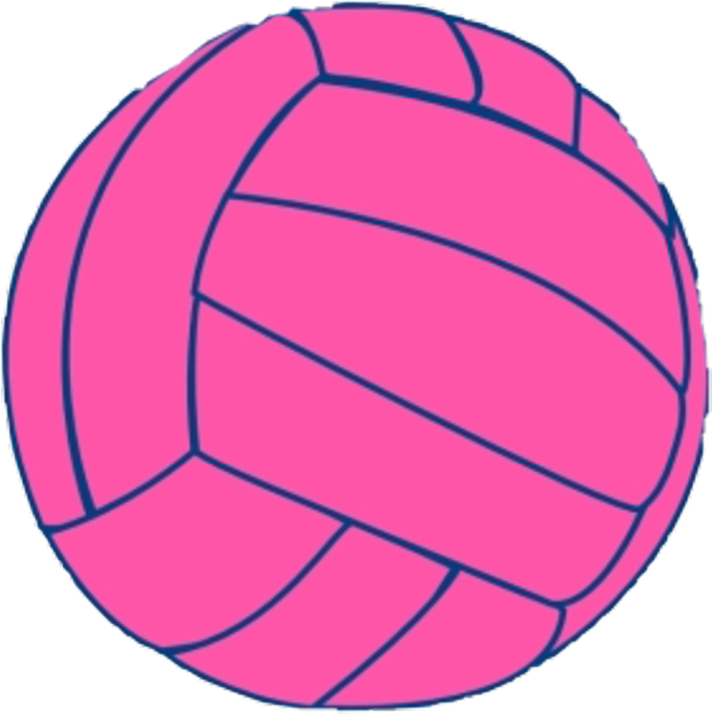 Pink Ball Volleyball Art Icon Aesthetic Tumblr Transparent Background Volleyball Clipart Png Download Full Size Clipart 4064821 Pinclipart
