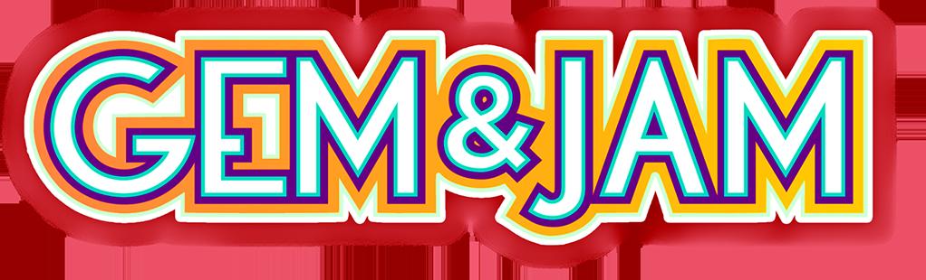 Gem Jam Header Logo 1 - Jam Gem Clipart - Full Size ...