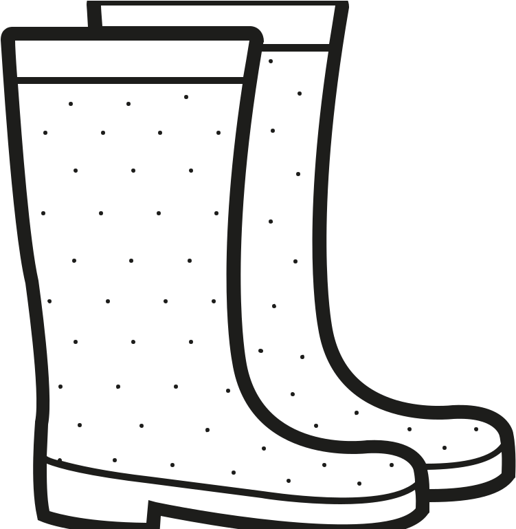 Rain Boots Color Page Printable Coloring Pages Duck ...