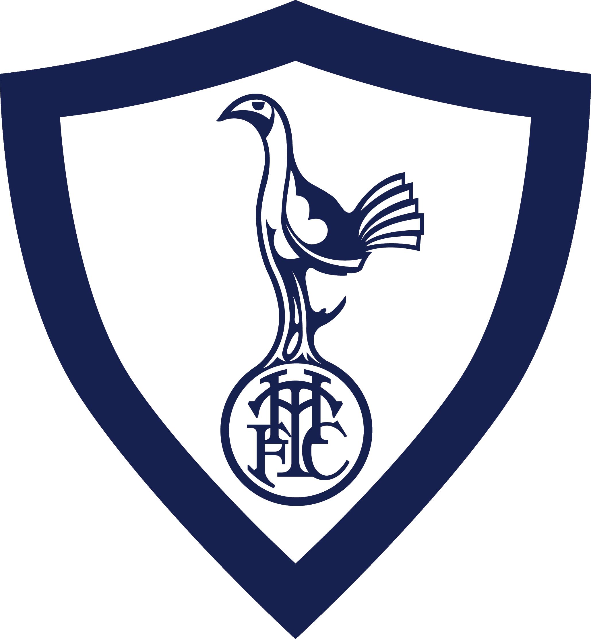 Tottenham Hotspur Tottenham Hotspur Retro Logo Clipart Full Size Clipart 4095669 Pinclipart