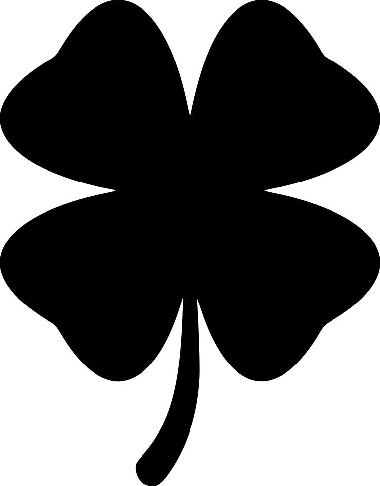 Jpg Free Clover Svg - Icon Four Leaf Clover Clipart - Full ...